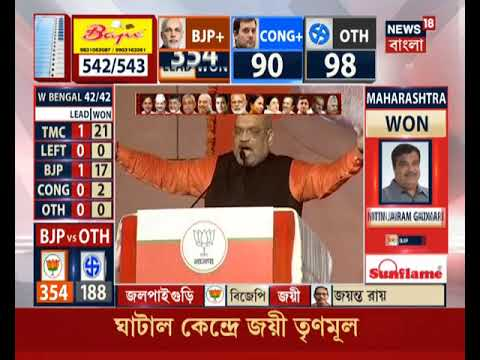 BJP Sweeps Most Part Of India; Modi Dedicates Victory To People