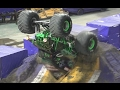 Monster Jam Grave Digger freestyle in the Rogers Centre of Toronto 2017 on kids channel Play Tube TV