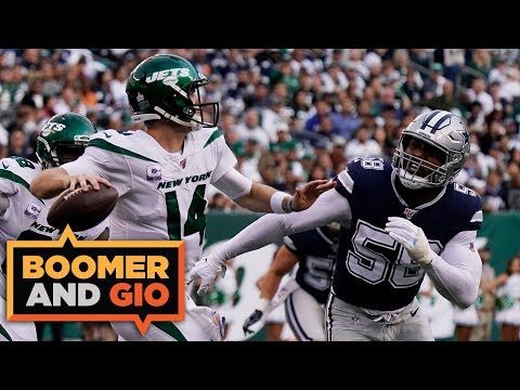 The Cowboys LOSE to the 0-4 Jets!   Boomer & Gio