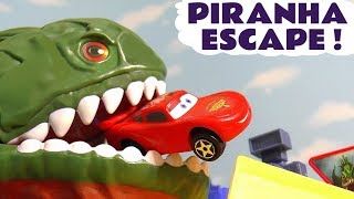 Cars Lightning McQueen Hot Wheels Piranha Escape toy story with Superheroes and funny Funlings TT4U