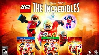 LEGO The Incredibles Gameplay Trailer 2018 SWITCH XBOX ONE PS4