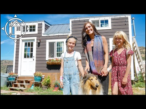 Mom + 2 Daughters Share TINY HOUSE for 4 Years & Love It!