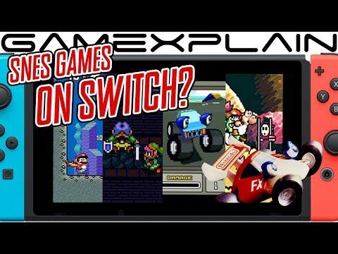 22 SNES Games Found in Data Mine of Nintendo Switch's NES Online App