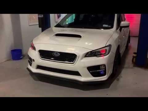 Diode Dynamics C-Light & RGB-W Demon Eyes Demonstration 2015 Subaru WRX