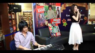 Kevin Feat Gayatri (Princess-Girlband) - Clock Strikes (ONE OK ROCK COVER)