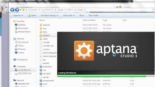 Run php under Aptana tutorial
