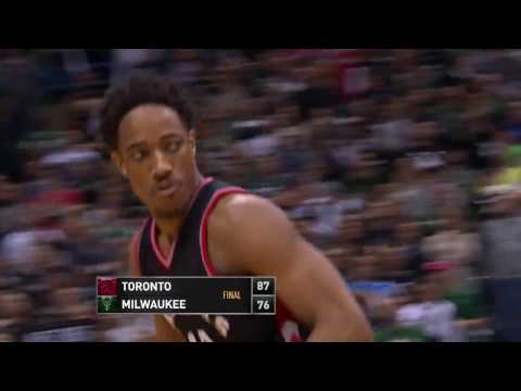 Toronto Raptors vs Milwaukee Bucks - April 22, 2017