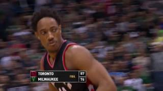 Toronto Raptors vs Milwaukee Bucks - April 22, 2017