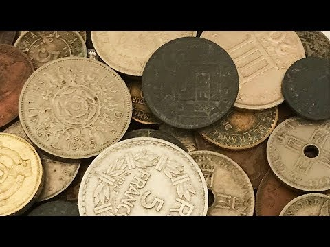 World Coins Variety Lot Search (19th Century) - Half Pound - Bag #3