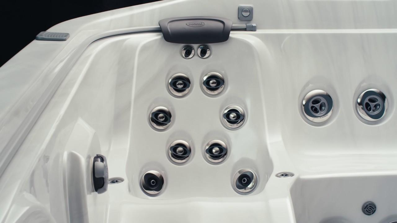 Aqua Quip - Hot Tub Store Jacuzzi J500 - YouTube