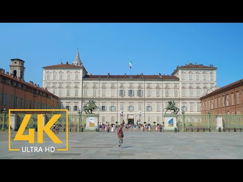 TURIN in 4K (Ultra HD) - Trip to Italy - Documentary Film