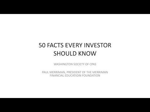 50 Facts Every Investor Should Know (presentation view)