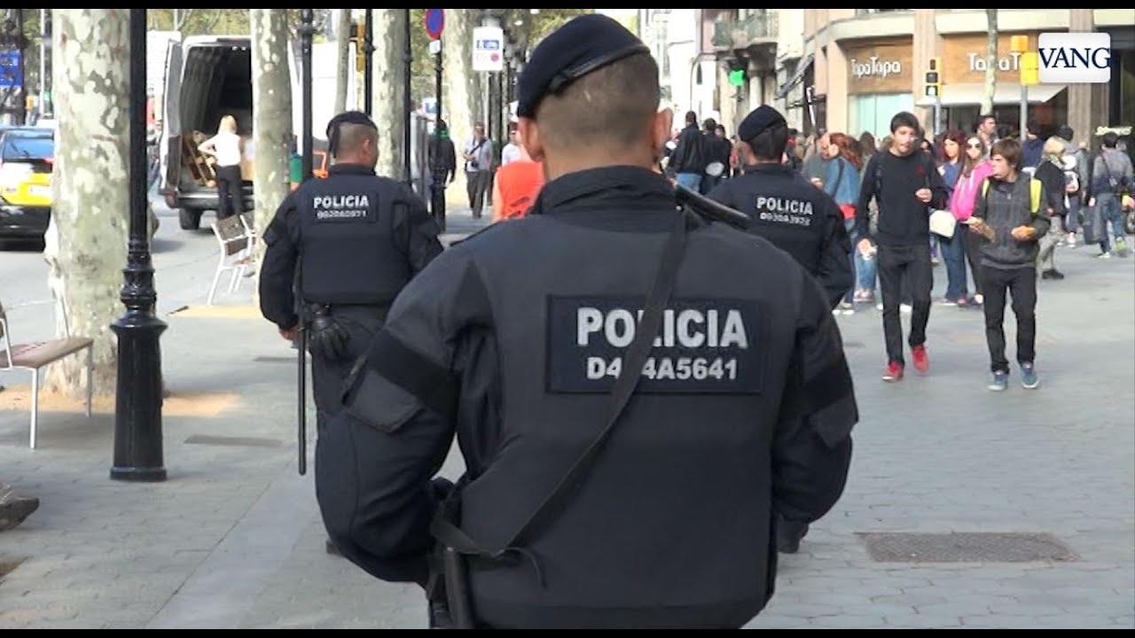 diez a u00f1os de mossos d u0026 39 escuadra