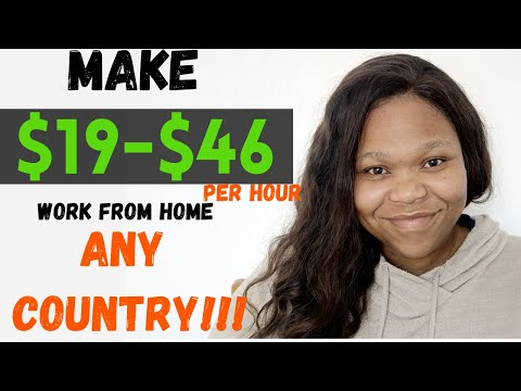 Make $19 To $46 Per Hour Proofreading | Worldwide | Work From Home Jobs | Make Money In South Africa