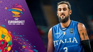 Marco Belinelli was on fire from beyond the arc against Finland! 🔥