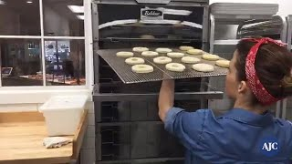 VIDEO: Inside the doughnut making process at Marietta's Doughnut Dollies