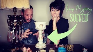Wait, How Old is It? | Lamp Mystery Solved | Antiques Buying & Reselling