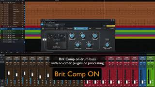 PreSonus Fat Channel Plug-in Demo: BritComp