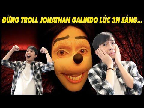 KHÔNG TROLL JONATHAN GALINDO lúc 3 giờ sáng với CrisDevilGamer