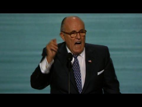 Rudy Giuliani S Entire Republican Convention Speech Youtube