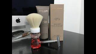 Acca Kappa 1869 Shaving Cream, Muhle R89 and TurnNShave Brush