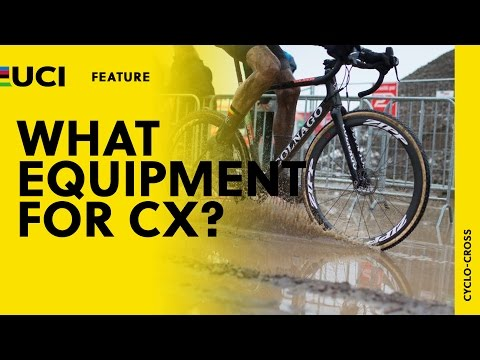 What equipment for Cyclo-cross?