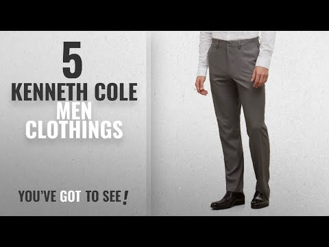Top 10 Kenneth Cole Men Clothings [ Winter 2018 ]: Kenneth Cole Reaction Men's Heather Stretch