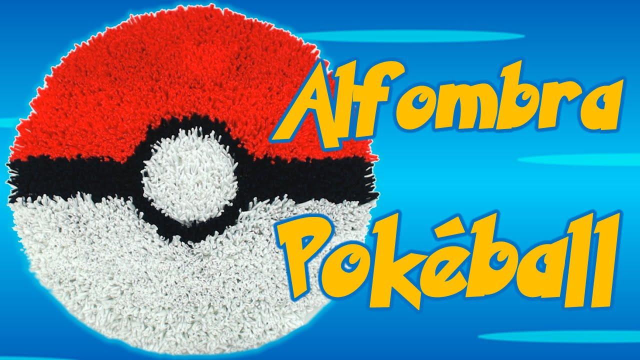 Alfombra Pokmon Pokball, cmo se hace - YouTube