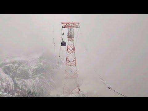 Mit der Weltrekord-Bahn auf die Zugspitze