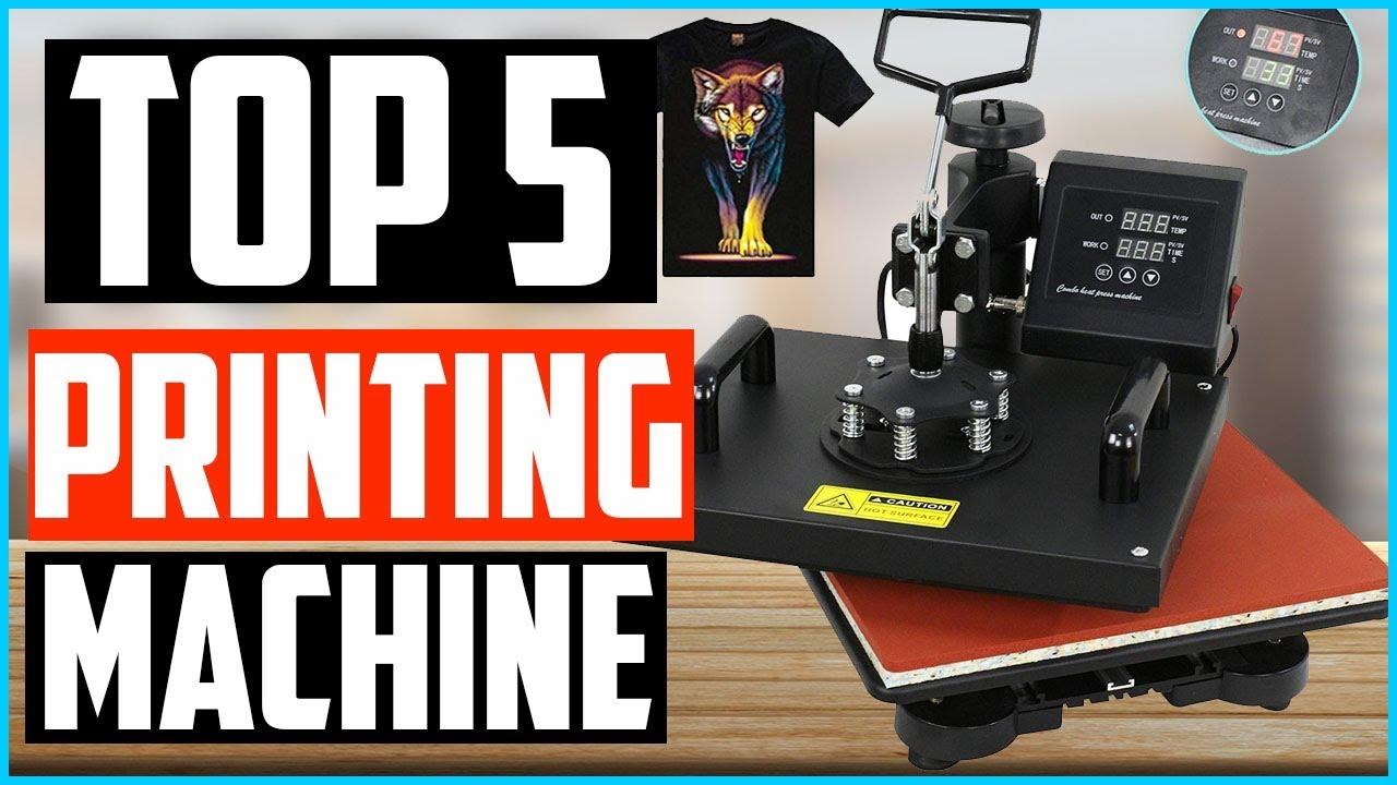 Top 5 Best Heat Press T Shirt Printing Machine In 2020 Youtube