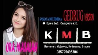 Download Ora Masalah cover GEDRUG - KMB PutriKristya Mp3