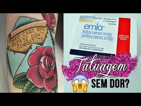Anestesia Para Tatuagem Youtube