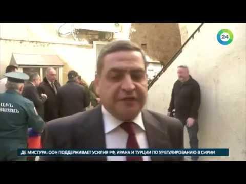 Армения передала сирийцам овощи и мясные консервы - МИР24