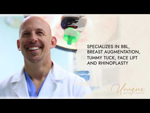 Meet Dr. Jonathan Fisher - Board Certified Plastic Surgeon   Unique Aesthetic Center