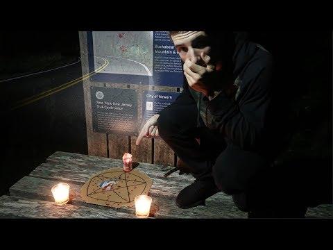 we found a satanic ritual on clinton road!