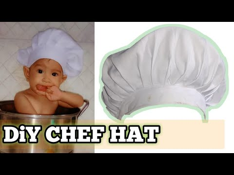 DiY CHEF HAT