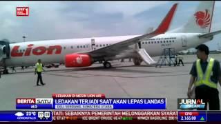 Mesin Lion Air Terbakar di Bandara Kualanamu