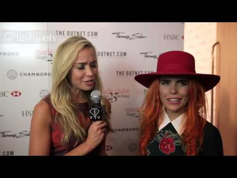 Marie Claire UK 25th Anniversary Party at Cafe Royal Hotel, London with Noelle Reno   FashionTV