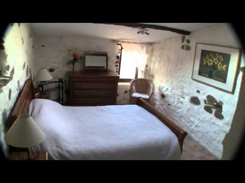 Inside our romantic medieval village holiday home in Gabian near Pezenas in the South of France