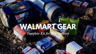 Complete Walmart Kit f๐r Overnighters