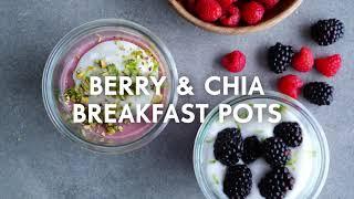Berry & chia breakfast pudding | Food | Woolworths SA