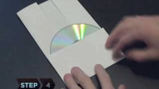 How To Make A Cd Or Dvd Case Out Of A Piece Of Paper