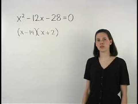 Solving Polynomial Equations - MathHelp.com - Algebra Help