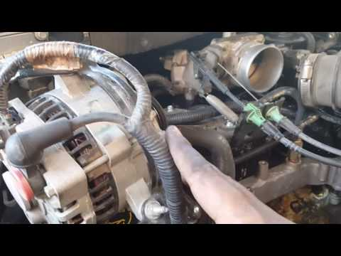 Replacing engine coolant temperature sensor on 2003 Ford Expedition  XLT 5.4L