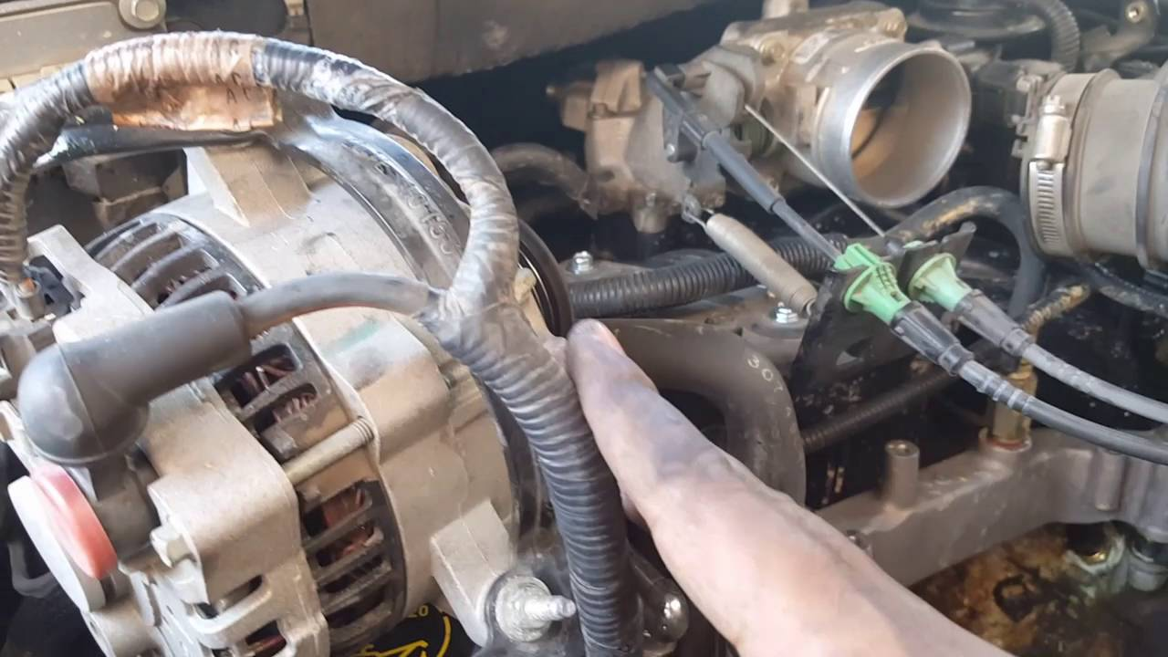 replacing engine coolant temperature sensor on 2003 ford expedition