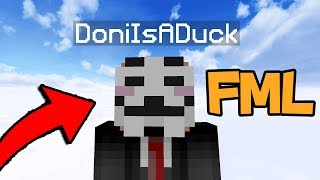 HUGE YOUTUBER CONFRONTED ABOUT HIS HACKS! (Minecraft Trolling)