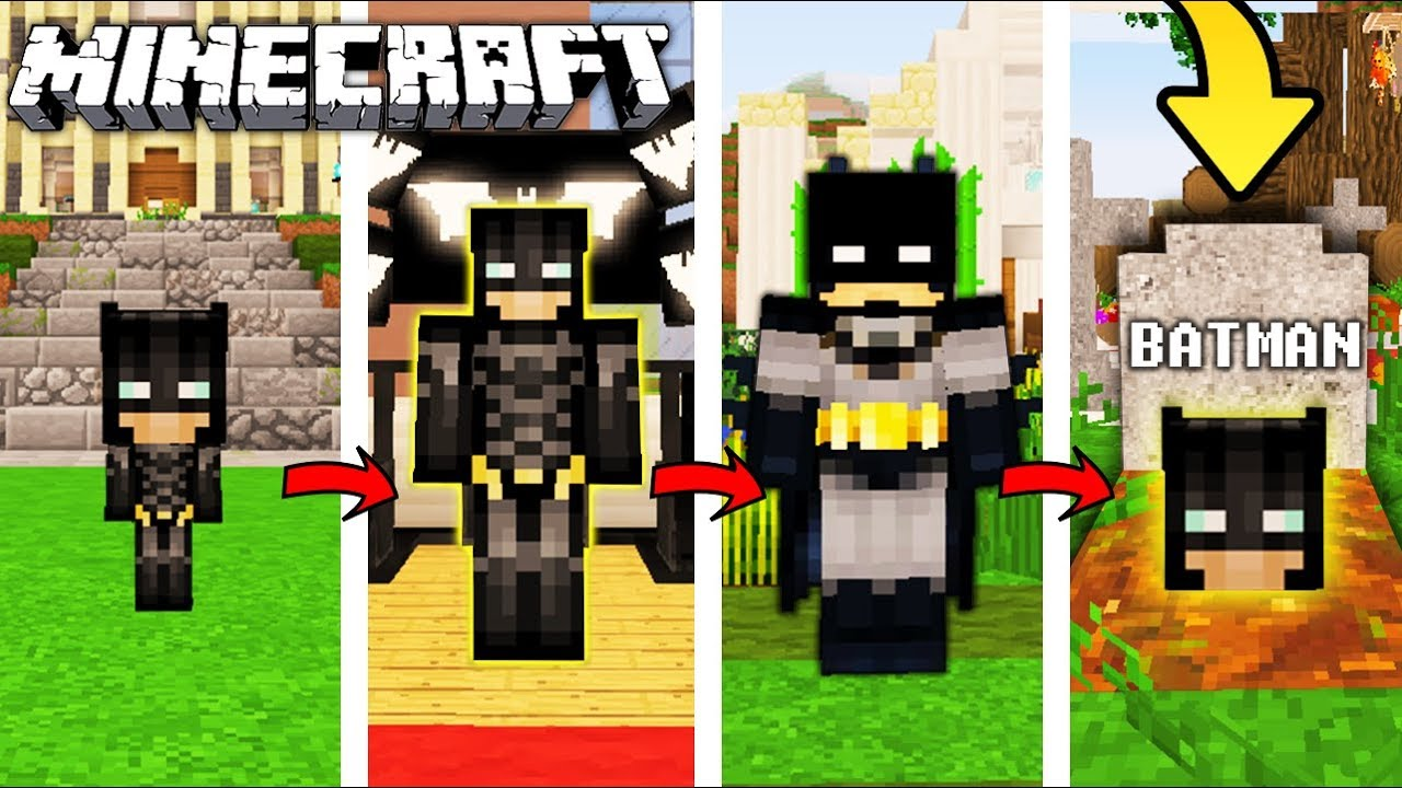 Zycie Hamburgera W Minecraft Od Narodzin Do Smierci Youtube