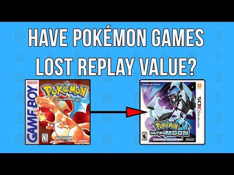 Have Pokémon Games Lost Replay Value?