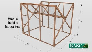 How to Build a Ladder Trap