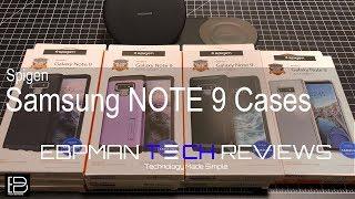 Spigen Samsung Galaxy Note 9 Cases